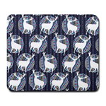 Geometric Deer Retro Pattern Large Mousepads Front