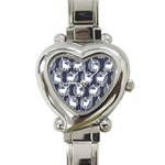 Geometric Deer Retro Pattern Heart Italian Charm Watch