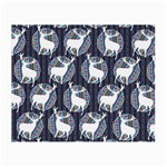 Geometric Deer Retro Pattern Small Glasses Cloth