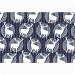 Geometric Deer Retro Pattern Collage Prints 18 x12 Print - 5