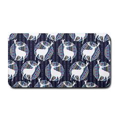 Geometric Deer Retro Pattern Medium Bar Mats