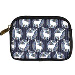Geometric Deer Retro Pattern Digital Camera Cases