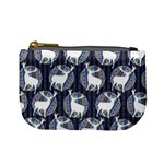 Geometric Deer Retro Pattern Mini Coin Purses