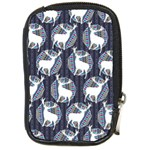 Geometric Deer Retro Pattern Compact Camera Cases Front
