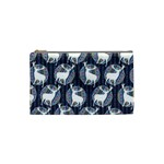 Geometric Deer Retro Pattern Cosmetic Bag (Small)