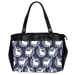 Geometric Deer Retro Pattern Office Handbags (2 Sides)