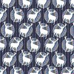 Geometric Deer Retro Pattern Magic Photo Cubes Side 6