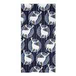 Geometric Deer Retro Pattern Shower Curtain 36  x 72  (Stall)  33.26 x66.24 Curtain