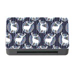 Geometric Deer Retro Pattern Memory Card Reader with CF