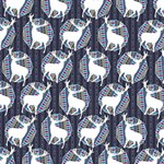 Geometric Deer Retro Pattern Congrats Graduate 3D Greeting Card (8x4) Inside