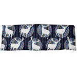 Geometric Deer Retro Pattern Body Pillow Case (Dakimakura)