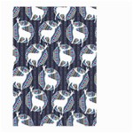 Geometric Deer Retro Pattern Large Garden Flag (Two Sides)