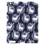 Geometric Deer Retro Pattern Apple iPad 3/4 Hardshell Case