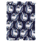 Geometric Deer Retro Pattern Apple iPad 3/4 Hardshell Case (Compatible with Smart Cover)