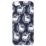 Geometric Deer Retro Pattern Apple iPhone 5 Hardshell Case