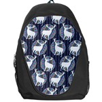 Geometric Deer Retro Pattern Backpack Bag