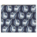 Geometric Deer Retro Pattern Cosmetic Bag (XXXL)