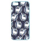 Geometric Deer Retro Pattern Apple Seamless iPhone 5 Case (Color)