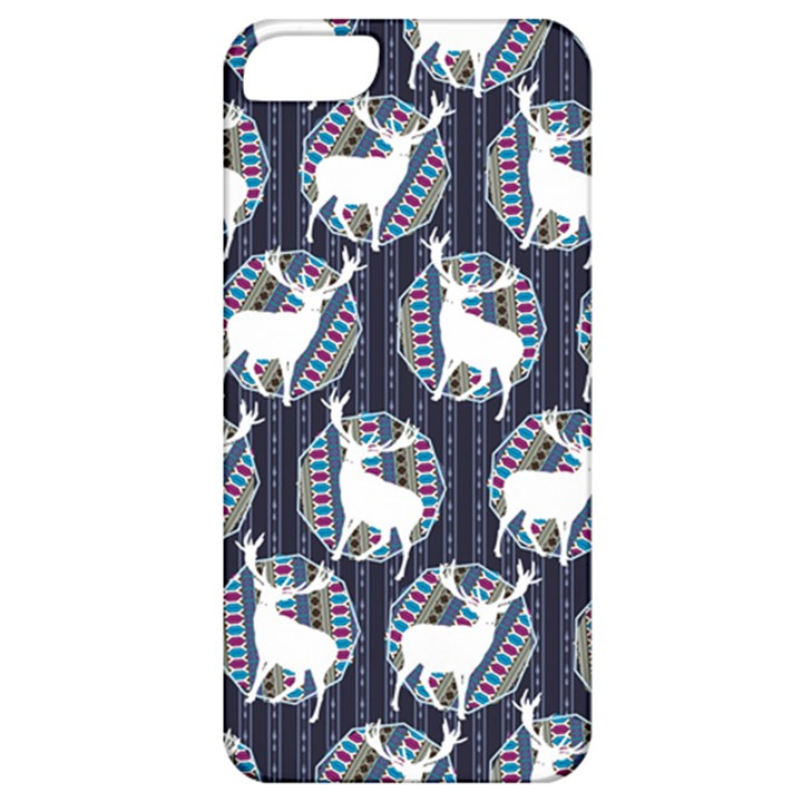 Geometric Deer Retro Pattern Apple iPhone 5 Classic Hardshell Case