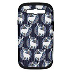 Geometric Deer Retro Pattern Samsung Galaxy S III Hardshell Case (PC+Silicone)