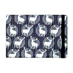 Geometric Deer Retro Pattern Apple iPad Mini Flip Case