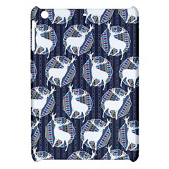 Geometric Deer Retro Pattern Apple Ipad Mini Hardshell Case