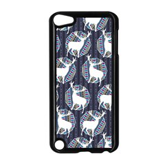 Geometric Deer Retro Pattern Apple Ipod Touch 5 Case (black) by DanaeStudio