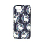 Geometric Deer Retro Pattern Apple iPhone 5 Classic Hardshell Case (PC+Silicone)