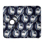 Geometric Deer Retro Pattern Samsung Galaxy S  III Flip 360 Case
