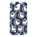 Geometric Deer Retro Pattern Samsung Galaxy S4 I9500/I9505 Hardshell Case