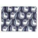 Geometric Deer Retro Pattern Samsung Galaxy Tab 10.1  P7500 Flip Case