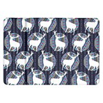 Geometric Deer Retro Pattern Samsung Galaxy Tab 8.9  P7300 Flip Case