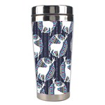 Geometric Deer Retro Pattern Stainless Steel Travel Tumblers