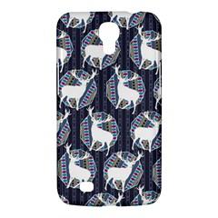 Geometric Deer Retro Pattern Samsung Galaxy Mega 6.3  I9200 Hardshell Case
