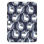 Geometric Deer Retro Pattern Samsung Galaxy Tab 3 (10.1 ) P5200 Hardshell Case