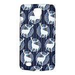 Geometric Deer Retro Pattern Galaxy S4 Active