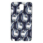 Geometric Deer Retro Pattern Samsung Galaxy Note 3 N9005 Hardshell Case