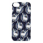 Geometric Deer Retro Pattern Apple iPhone 5S/ SE Hardshell Case