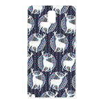 Geometric Deer Retro Pattern Samsung Galaxy Note 3 N9005 Hardshell Back Case