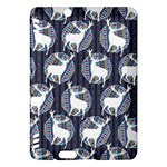 Geometric Deer Retro Pattern Kindle Fire HDX Hardshell Case