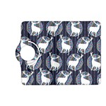 Geometric Deer Retro Pattern Kindle Fire HD (2013) Flip 360 Case