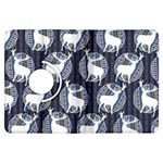 Geometric Deer Retro Pattern Kindle Fire HDX Flip 360 Case