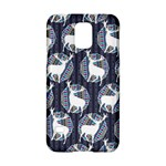 Geometric Deer Retro Pattern Samsung Galaxy S5 Hardshell Case