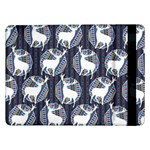 Geometric Deer Retro Pattern Samsung Galaxy Tab Pro 12.2  Flip Case