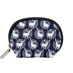 Geometric Deer Retro Pattern Accessory Pouches (Small)