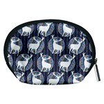 Geometric Deer Retro Pattern Accessory Pouches (Medium)  Back