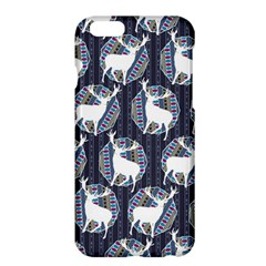 Geometric Deer Retro Pattern Apple Iphone 6 Plus/6s Plus Hardshell Case by DanaeStudio
