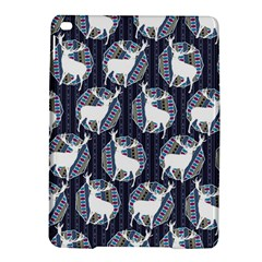 Geometric Deer Retro Pattern Ipad Air 2 Hardshell Cases by DanaeStudio