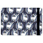 Geometric Deer Retro Pattern iPad Air 2 Flip