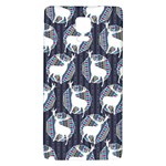 Geometric Deer Retro Pattern Galaxy Note 4 Back Case